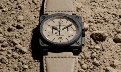 It's here: the Bell & Ross Desert Type watch