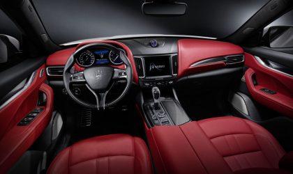 Just unveiled: the new Maserati Levante SUV