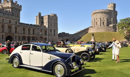 Classic cars congregate at the Concours of Elegance