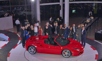 Italian craftsmanship dazzles at Ferrari 488 Spider Launch