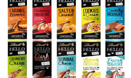 Personalise your Lindt Hello slab and win!