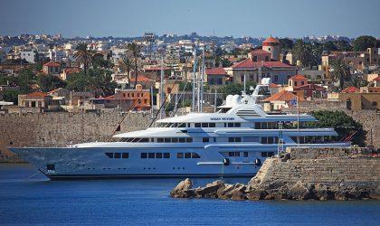 Life on a superyacht