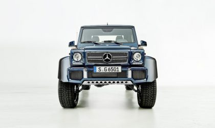 Open-air luxury: The new Mercedes-Maybach G 650 Landaulet