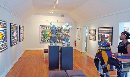 Esther Mahlangu's Ndebele art