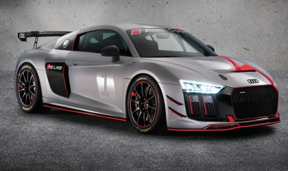 World premiere of the Audi R8 LMS GT4 in New York