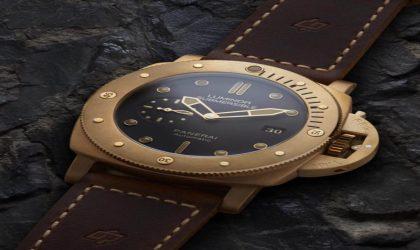Unique Panerai bronze timepiece on auction