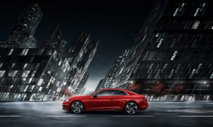 A new form of V6 power - The new Audi RS 5 Coupè