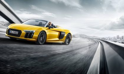Pure emotion: the new Audi R8 Spyder V10