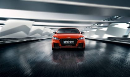 More powerful than ever: the new Audi TT RS Coupé