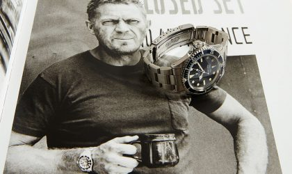 The story of Steve McQueen's Rolex Submariner - soon up for auction