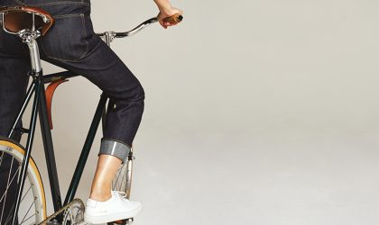 Fashion (fast) forward: phone-cleaning jeans