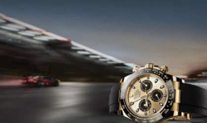 A Rolex watch born to race