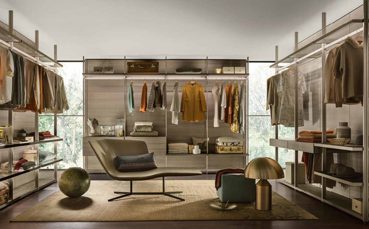 A bespoke living and dressing haven