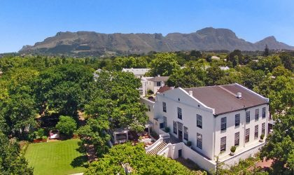 Rest and rejuvenate at The Alphen Boutique Hotel