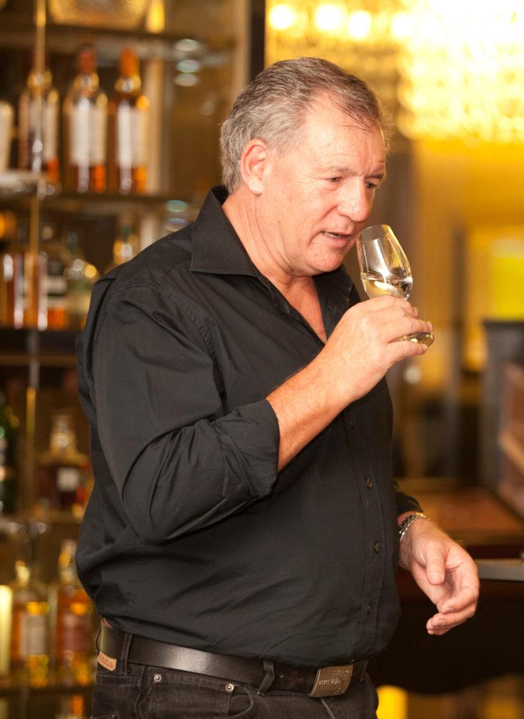 Master distiller Andy Watts.