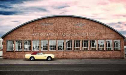 Inheritance is the engine of survival with Aston Martin