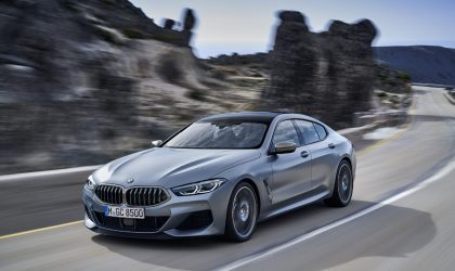 The BMW 8 Series Gran Coupé is like a four-door sports car