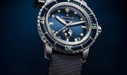 Fifty Fathoms Ocean Commitment III remains loyal to Blancpain's DNA