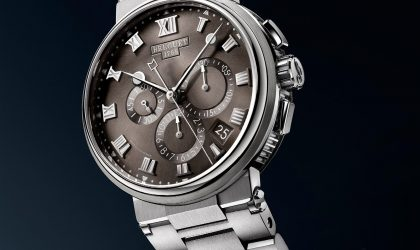 Breguet presents titanium elegance with the Marine collection