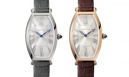 Cartier Tonneau Wristwatch and Skeleton Dual Time Zone Tonneau models