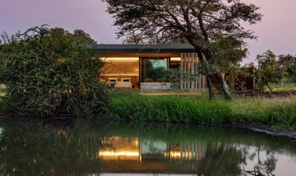 An afro‐minimalist reserve awaits in the Kruger National Park