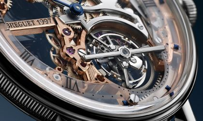 An extra-thin skeleton design by Breguet
