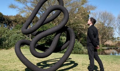 David Brits brings the Ouroboros series to Art Week