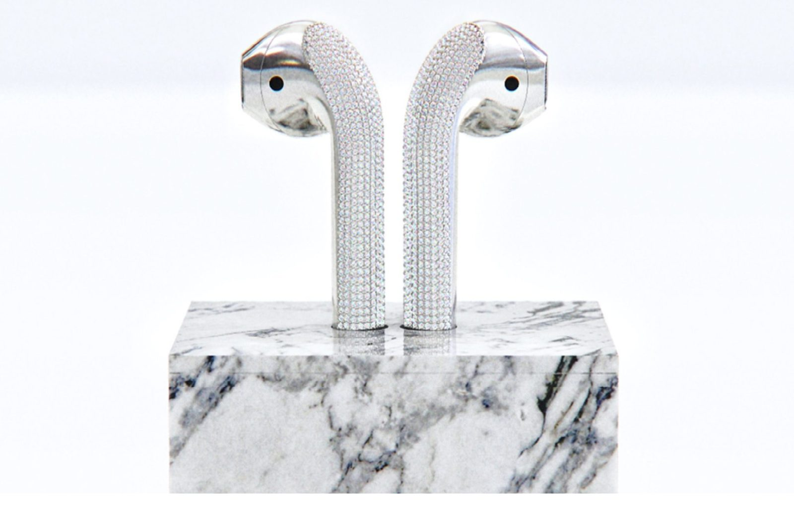 Diamond-encrusted AirPods
