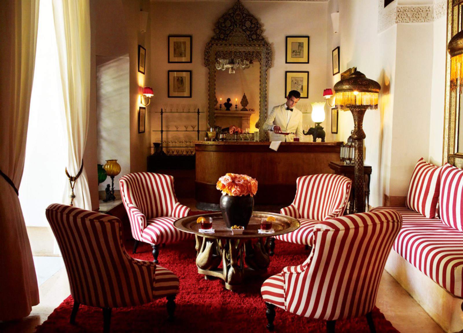 Enjoy 1930's glamour at L'Hôtel Marrakech 1