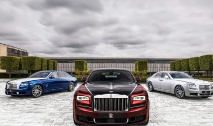 Rolls-Royce marks an important milestone with the Ghost Zenith Collection