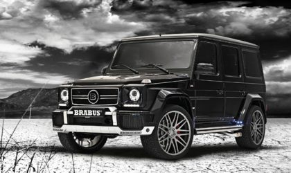 In the theatre of unrepentant excess with Brabus