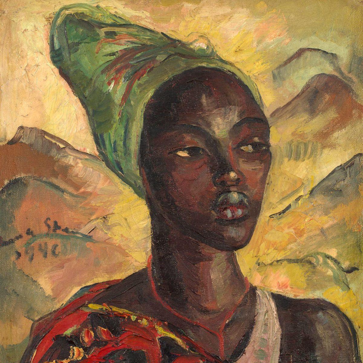 Irma Stern A Watussi Woman portrait