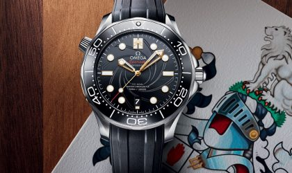 Omega celebrates a James Bond classic with a limited edition Seamaster Diver