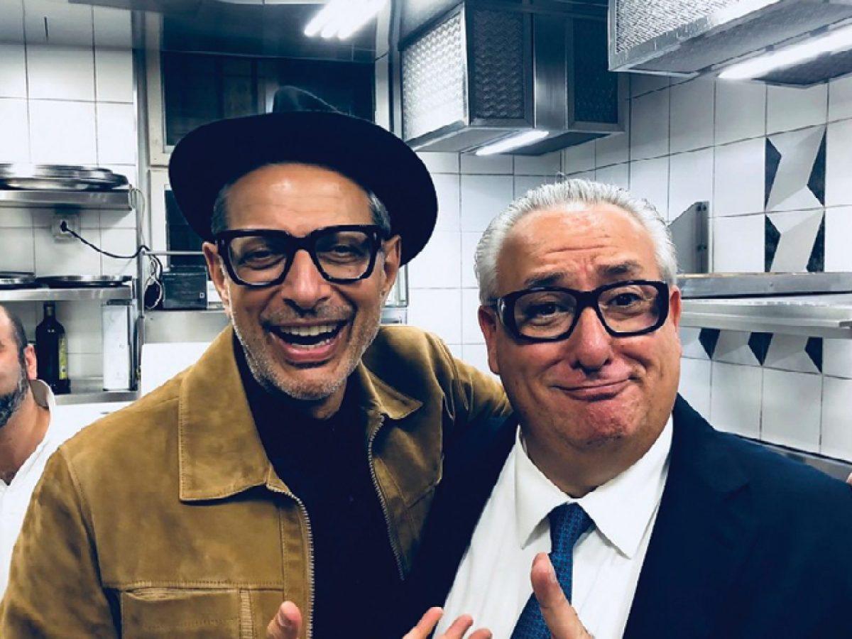 Jeff Goldblum and Giovanni