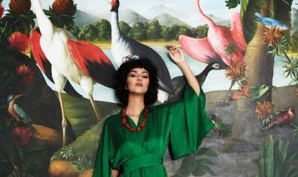 Wildlife inspired kimonos by KLEED
