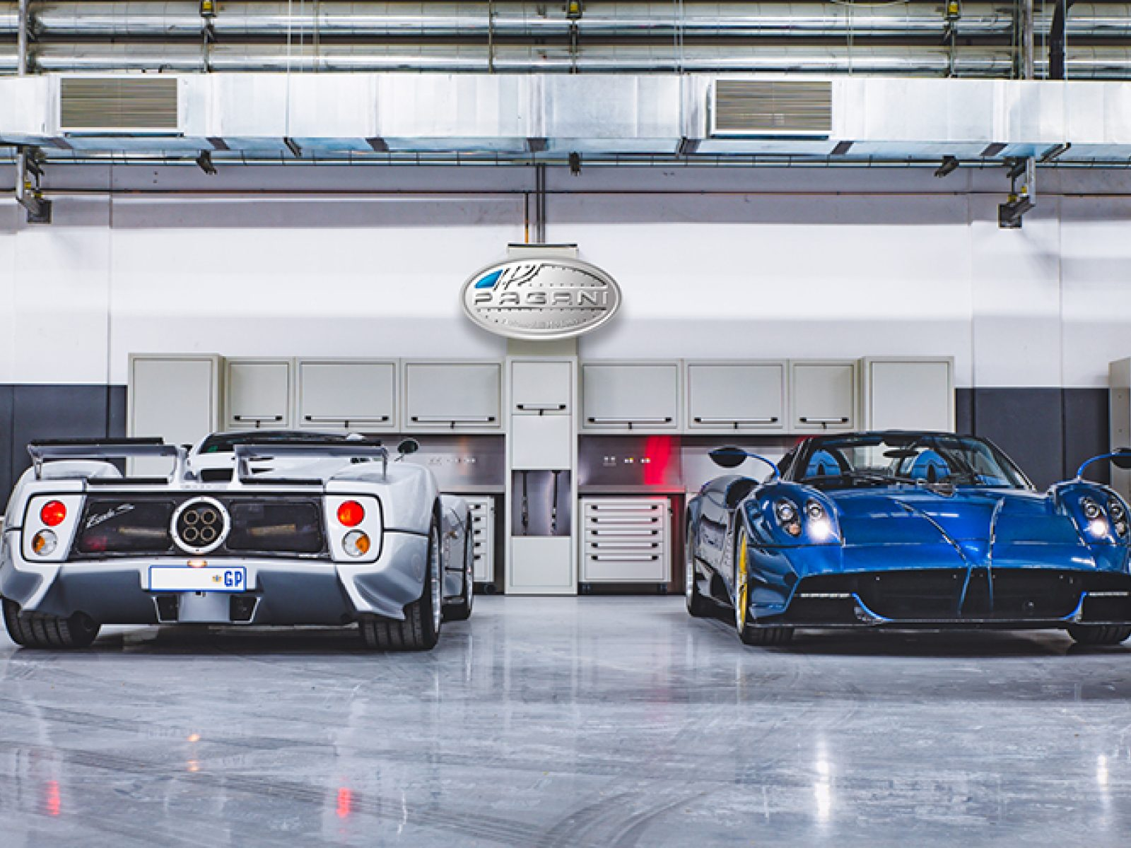 Pagani showroom in South Africa