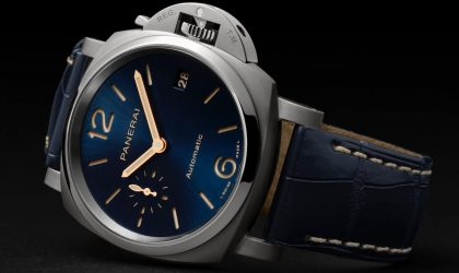 The evolution of Panerai's Luminor Due collection