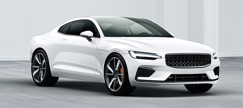 The foreseeable future of cars Volvo Polestar 1