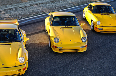 The Luxury Briefing An extraordinary collection of Porsches