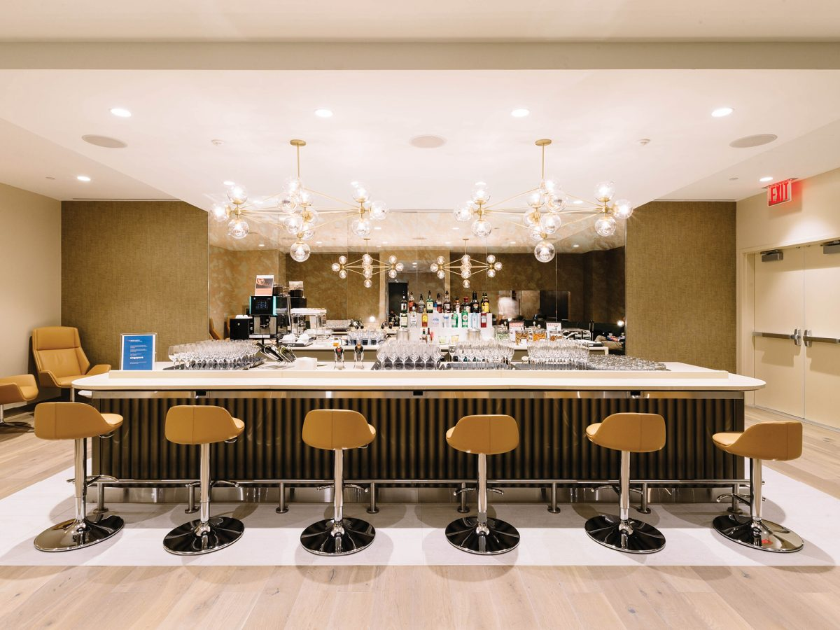 British Airways' First Lounge at New York's JFK