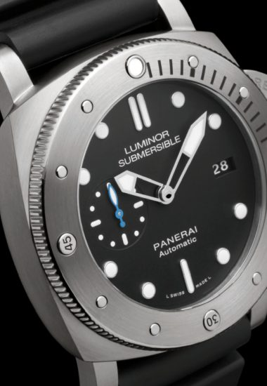 Panerai responds to the depths of the sea with a Luminor Submersible