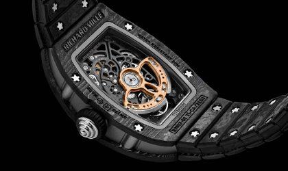 Richard Mille Carbon TPT timepiece