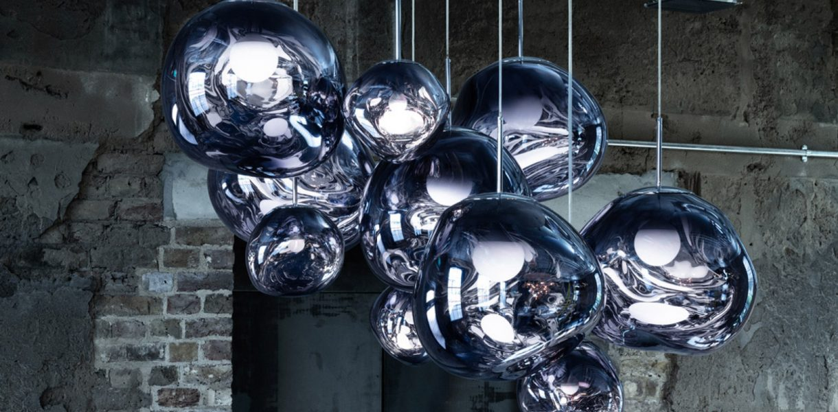 The chandelier edit pre-designed by Tom Dixon