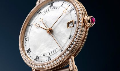Breguet's mother-of-pearl elegance