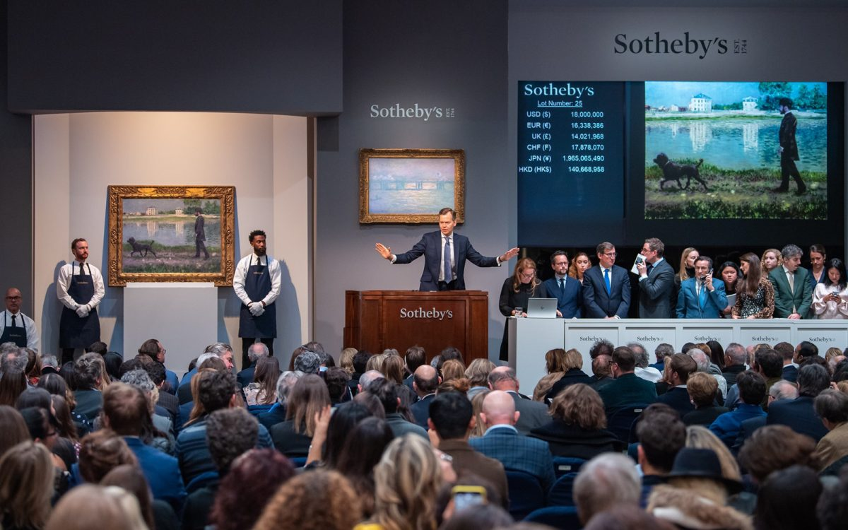 Edition 70: The Luxury Briefing Sotheby's contemporary art sales total $104.4 million