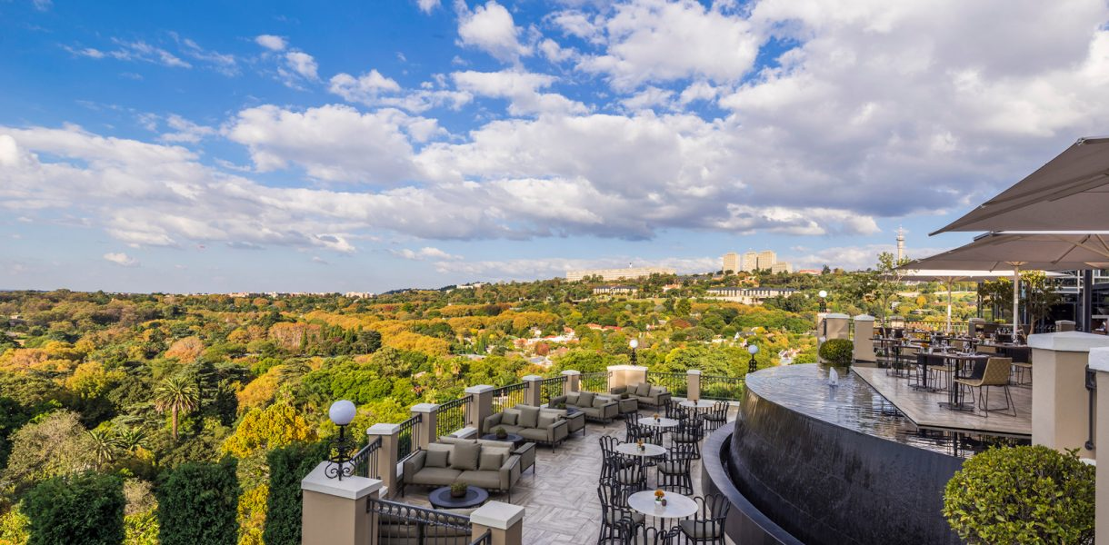 Glorious hilltop dining at The Westcliff