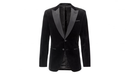 Hugo Boss slim-fit jacket
