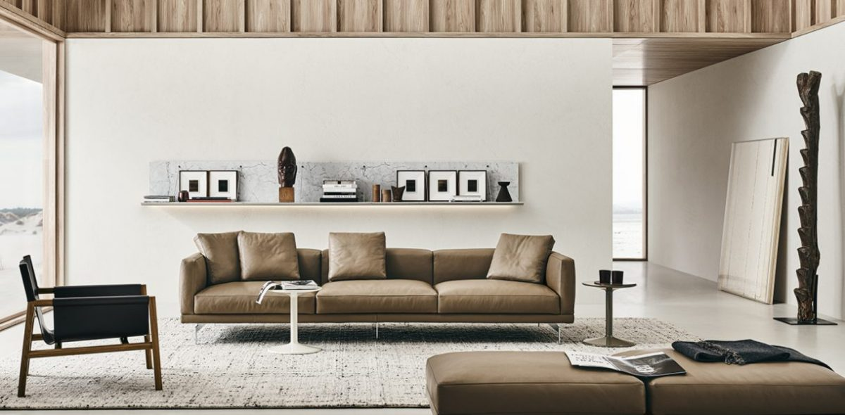 Piero Lissoni reimagines comfort with his Dock sofa for B&B Italia