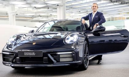 Porsche celebrates an icon with the Belgian Legend Edition