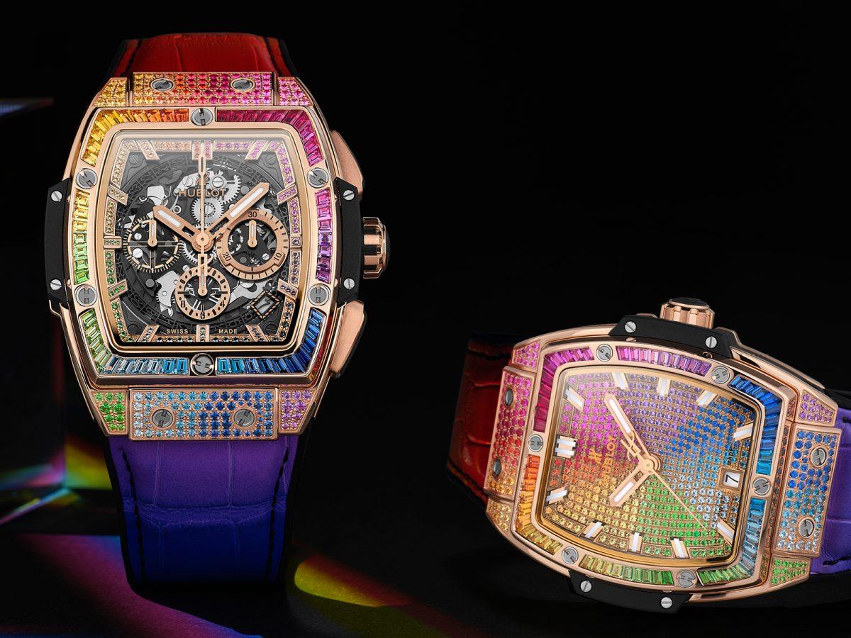 Edition 73: The Luxury Briefing Hublot captures the ephemeral rainbow